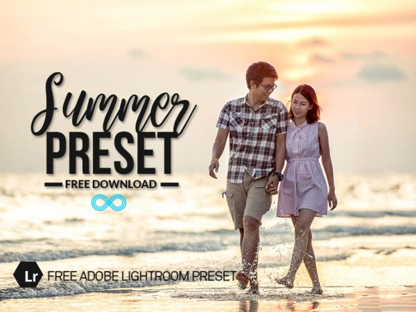 Free Summer Lightroom Preset