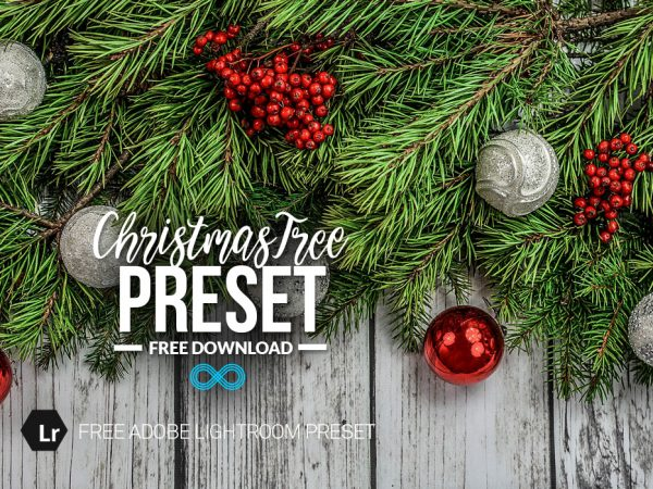 Free Christmas Tree Lightroom Preset