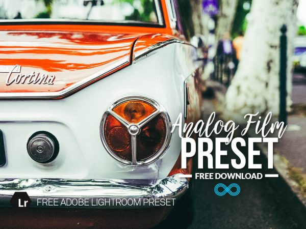 Free Analog Film Lightroom Prese