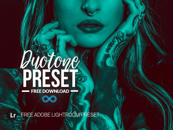 Free Duotone Lightroom Preset