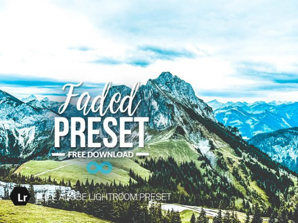 Free Faded Lightroom Preset