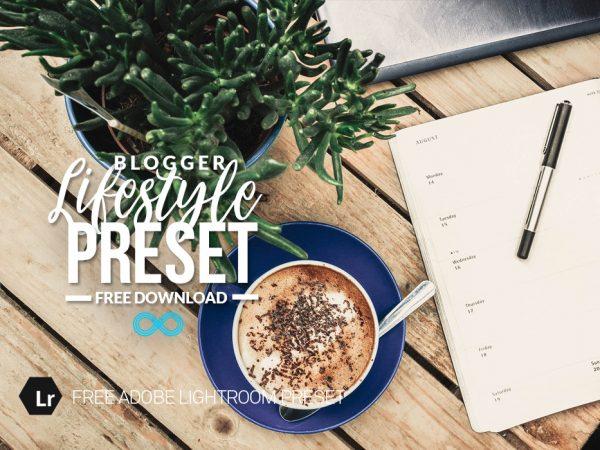Free Lifestyle Blog Lightroom Preset