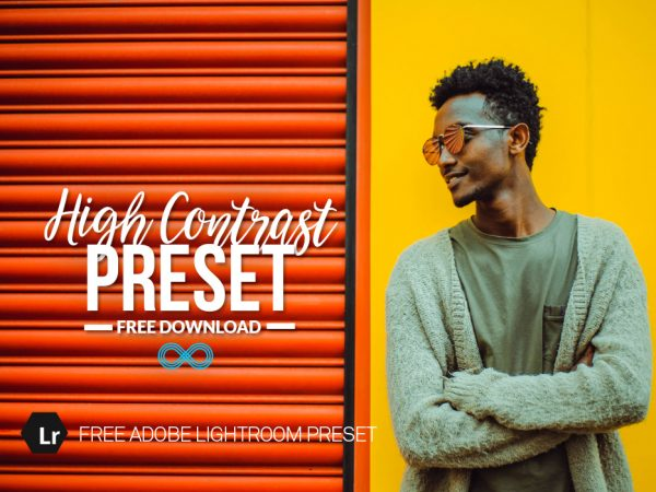 Free High Contrast Lightroom Preset